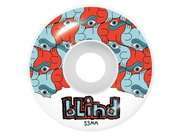 Blind Tile Style 53mm Red/Blue