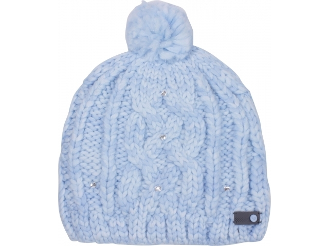 Roxy Shooting Star Pom-Pom Beanie Powder Blue (detaliu #0)