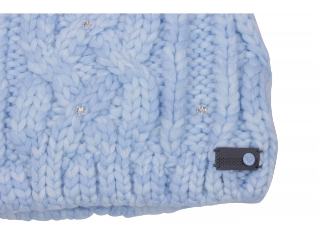 Roxy Shooting Star Pom-Pom Beanie Powder Blue (detaliu #1)