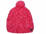 Roxy Shooting Star Pom-Pom Beanie Teaberry