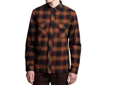 Element Wentworth Shadow LS Shirt Gold Brown (thumb #0)