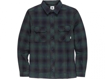 Element Wentworth Shadow LS Shirt Olive Drab (thumb #0)