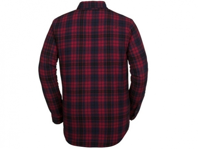 Volcom Sherpa Flannel Jacket Red (detaliu #1)