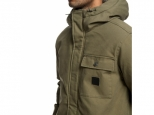 DC Canongate 2 Water Resistant Worker Parka Burnt Olive (#4)