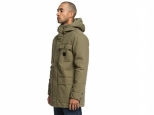 DC Canongate 2 Water Resistant Worker Parka Burnt Olive (#5)