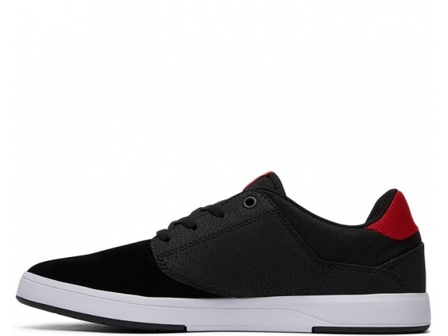 DC Plaza TC S Black/Athletic Red