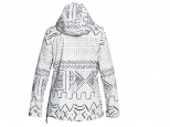 DC Skyline Anorak Snow Jacket Silver Birch Mud Cloth (#1)