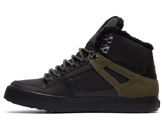 DC Spartan High WC WNT Black/Olive