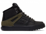 DC Spartan High WC WNT Black/Olive (#0)