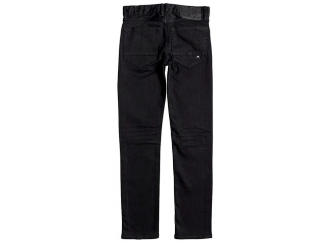 DC Worker Straight Jeans Black Rinse