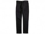 DC Worker Straight Jeans Black Rinse (#0)