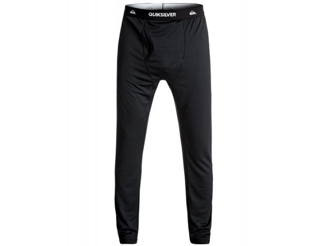 Quiksilver Territory - Polartec® Under Layer Bottoms Black (detaliu #0)
