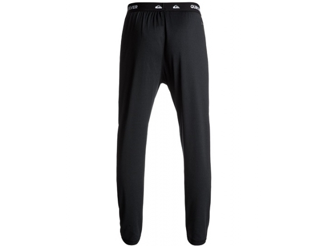 Quiksilver Territory - Polartec® Under Layer Bottoms Black (detaliu #1)