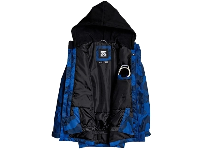 DC Union Kids Monaco Blue Pill Camo (detaliu #1)