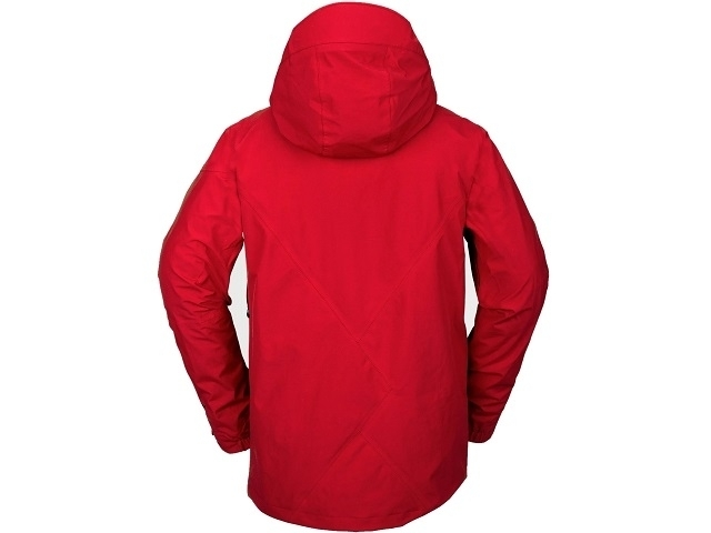 Volcom L Insulated Gore-Tex Jacket Red (detaliu #1)