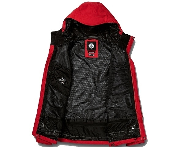 Volcom L Insulated Gore-Tex Jacket Red (detaliu #2)