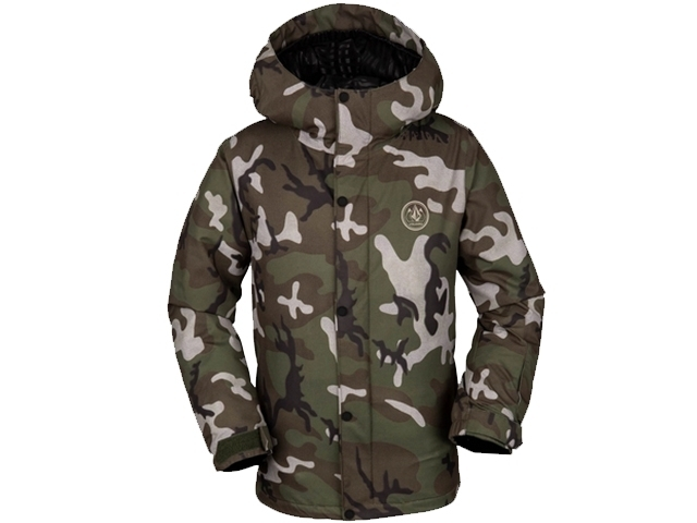 Volcom Ripley Insulated Jacket Boys Gi Camo (detaliu #0)