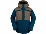 Volcom Scortch Insulated Jacket Blue