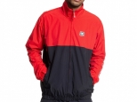 DC Ah Bon Water Resistant Windbreaker Racing Red