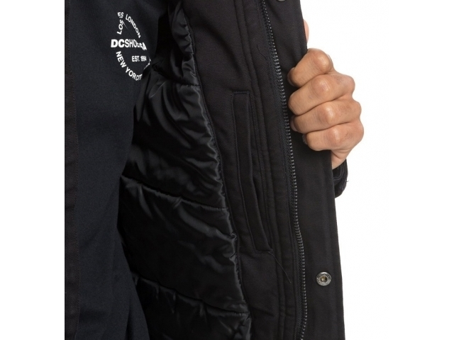 DC Canongate 2 Water Resistant Worker Parka Black