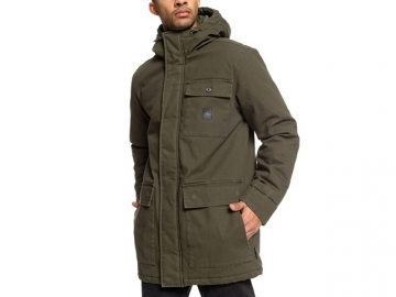DC Canongate  2 Water Resistant Worker Parka Dark Olive (thumb #0)