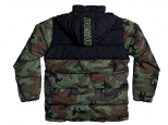 DC Straffen Water-Resistant Hooded Puffer Jacket Camo (#1)