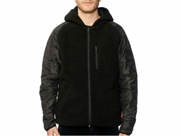 Globe Fielder Reversible Jacket Black/Polartec (thumb #0)