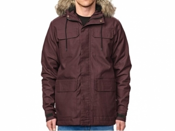 Globe Goodstock Thermal Parka Wine (thumb #0)