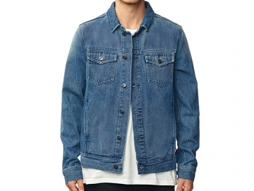 Globe Stalker Denim Jacket Motor Blue (thumb #0)