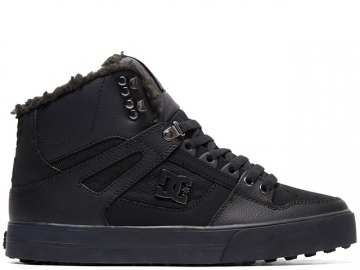 DC Pure High Top WC WNT Black/Black/Black (thumb #0)