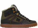 DC Pure High-Top WC WNT Black/Olive