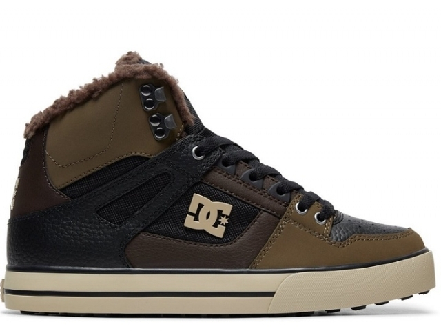 DC Pure High Top WC WNT Olive (detaliu #0)