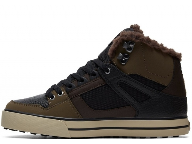 DC Pure High Top WC WNT Olive (detaliu #1)