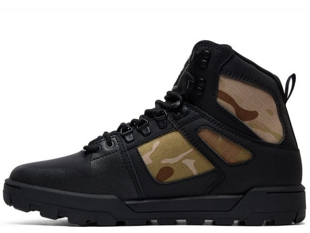 DC Pure High Top WR Boot Black/Camo (detaliu #1)
