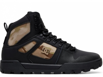 DC Pure High Top WR Boot Black/Camo (thumb #0)