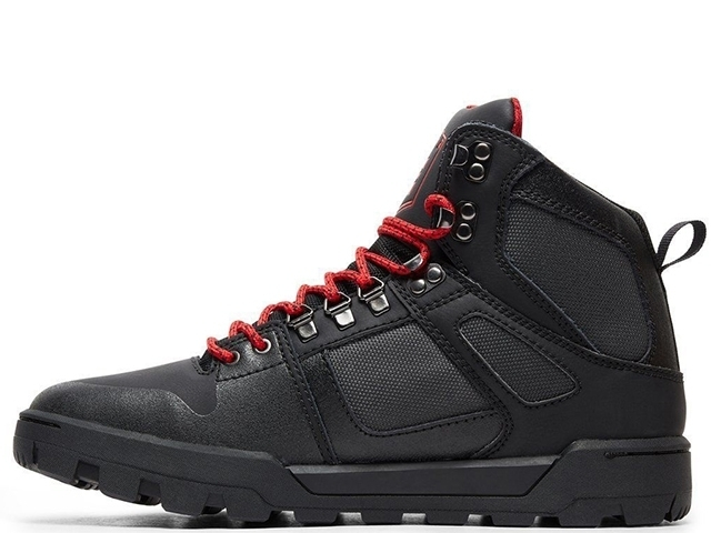 DC Pure High-Top WR Boot Black/Grey/Red (detaliu #1)