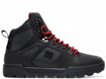 DC Pure High-Top WR Boot Black/Grey/Red (#0)