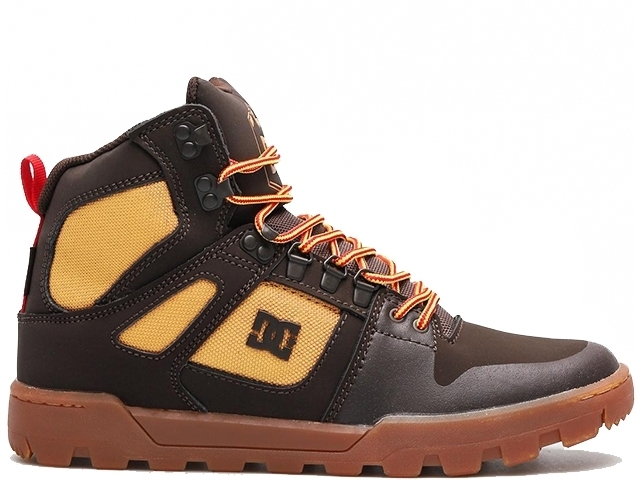 DC Pure High-Top WR Boot Chocolate/Brown (detaliu #0)