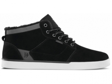 Etnies Jefferson Mid Black/Dark Grey (thumb #0)