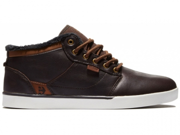 Etnies Jefferson Mid Brown/White (thumb #0)