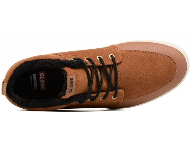 Globe GS Chukka Brown/Black/Wool (detaliu #1)