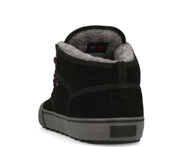 Globe Motley Mid Black/Phantom/Fur