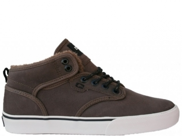 Globe Motley Mid Dark Brown/Off White/Fur (thumb #0)