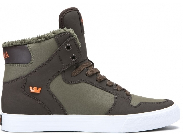 Supra Vaider Demitasse/Olive Night White