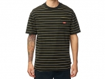 Globe Bar Stripe Tee Black (thumb #0)