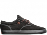 Globe Motley Black Suede/Red