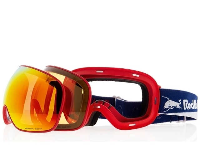 Red Bull SPECT Magnetron Mirrored-021 Red (detaliu #1)