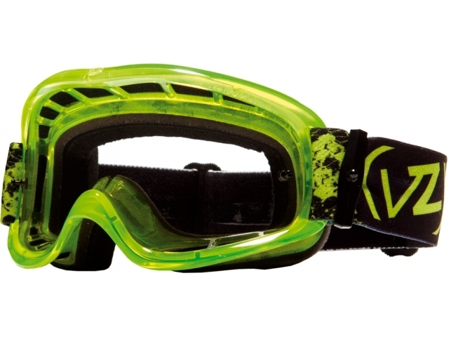 Googles MX VonZipper Sizzle MX Snakey Lime de la VonZipper