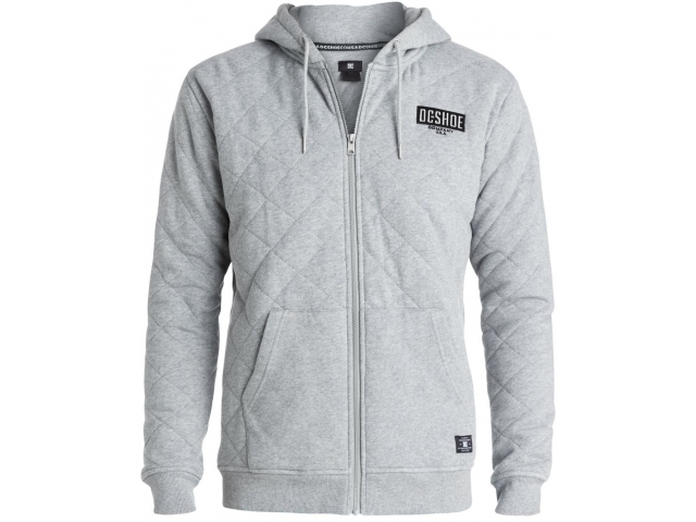 DC Halibrent Zip-up Steel Grey