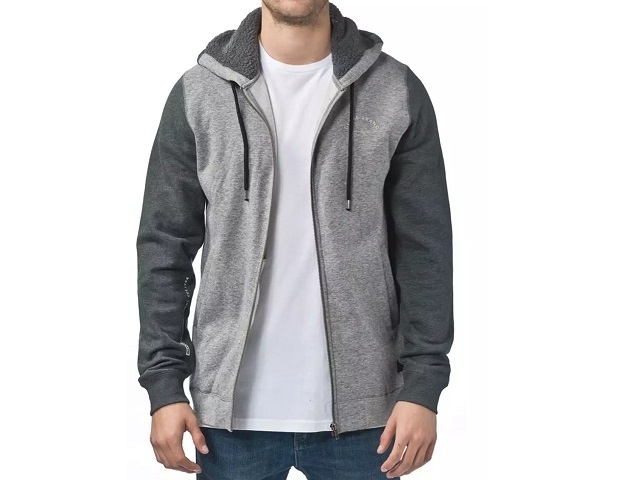 Globe Maverick Zip Hoodie Grey Heather (detaliu #0)